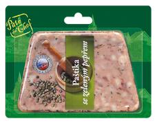 Pâté du Chef Hrubá ardénská paštika se zeleným pepřem 125 g