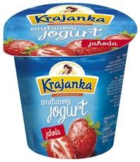Krajanka smetanový jogurt jahoda 150 g