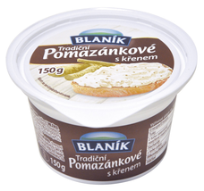 Blaník pomazánkové máslo křen 150 g