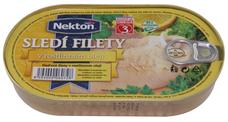 Sleďové filety v rostlinném oleji 170 g