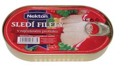Sleďové filety  v rajčatové omáčce 170 g