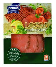 Marinovaný losos plátky 100 g