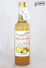 Zázvorový sirup s citronem 500 ml