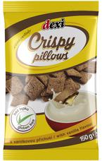 CRISPY PILLOWS - peřinky s vanilkovou příchutí 150 g