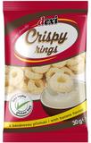 Crispy rings s banánovou příchutí 30 g