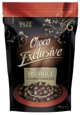 Brusnice v hořké čokoládě 700 g