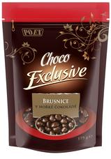 Brusnice v hořké čokoládě 175 g