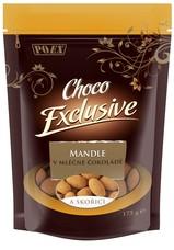 Mandle v mléčné čokoládě se skořicí 175 g!