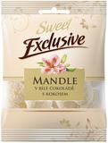 Mandle v bílé čokoládě s kokosem 150 g
