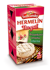 Sedlčanský Hermelín na gril s brusinkovou omáčkou (4 porce) 450 g