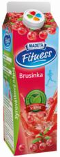 Fitness syrovátkový nápoj brusinka 450 g