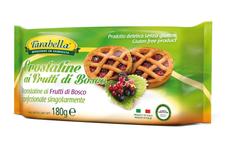 Crostatine - koláčky s náplní z lesních plodů 180 g