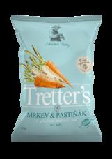 Tretter´s chips mrkev pastiňák mořská sůl 90 g