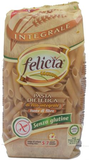 FELICIA BIO celozrnné rýžové těstoviny fusilli 250 g