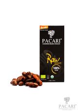 Pacari čokoláda RAW 100% v BIO kvalitě 50 g
