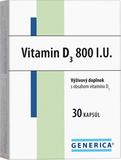 Vitamin D3 800 I.U. 30 kapsúl