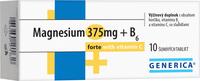 Magnesium 375mg+B6 10 šumivých tabliet