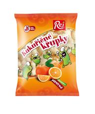 Křupky kukuřičné pomerančové 90 g