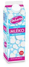 DeLacto čerstvé mléko 1 000 ml