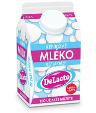 DeLacto kefírové mléko 500 ml