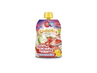 Ovocňák Pyré Jablko - Jahoda  120 g