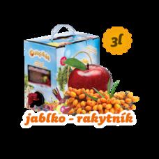 Ovocňák Jablko - Rakytník 3 l