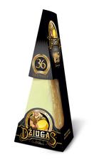 Tvrdý syr DŽIUGAS ® Gourmet, zrejúci 36 mesiacov 180 g