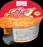 Treska v majonéze Exklusiv s feferónovým šalátom 145 g
