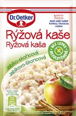 Rýžová kaše Jablko-skořicová 52 g