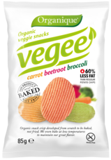 Organique - Organic veggie snacks -  VEGEE 85 g