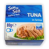 Tuňák ve vlastní šťávě 80 g SUN & SEA