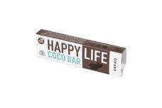 HappyLife COCO BAR - BIO kokosová tyčinka s kakaom 40 g
