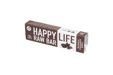 HappyLife BIO & RAW BAR - mandľová tyčinka s kakaovými bôbami 42 g