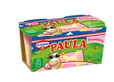 Paula Strawberry - mliečny dezert s vanilkovo-jahodovou príchuťou 200 g