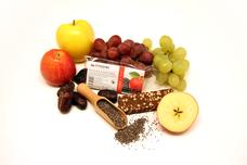 Ovocná svačinka s chia semínky a jablky 60 g