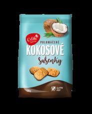 Kokosové sušenky polomáčené 120 g