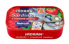 Sardinky JADRAN v tomatové omáčce 125 g