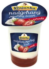 Krajanka nadýchaný jogurtový dezert jahoda 115 g