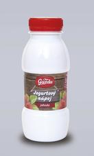 Gazda 100% ovčí jogurtový nápoj jahoda 250 ml