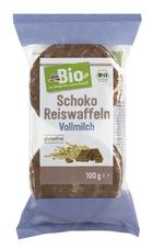 dmBio ryžové chlebíčky s mliečnou čokoládou 100 g