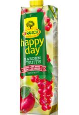 Happy Day jablko-červený rybíz 100% 1000 ml