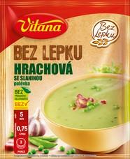 Bez lepku Hrachová polévka 74 g