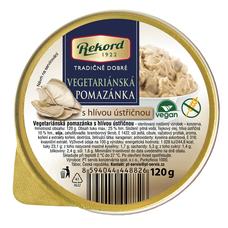 Vegetariánská pomazánka s hlívou ústřičnou 120 g