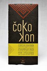 Mléčná čokoláda s praženým sladkým semínkem 80 g