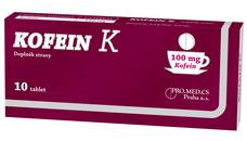 Kofein K 10 tbl.