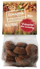 Bezlepkové vánoční bio sušenky s vlašskými ořechy a kořením 100 g