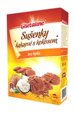Glutaline sušenky kakaové s kokosem DRUID 120 g