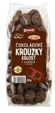 Kroužky čokoládové s karobem 80 g