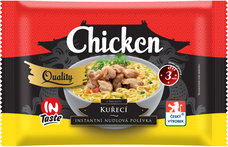 Instantní nudová polévka QUALITY s kuřecí příchutí 65 g
