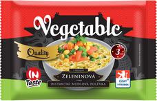 Instantní nudlová poléveka QUALITY se zeleninovou příchutí 65 g